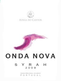 Onda Nova Syrah 2009, A really wonderfull wine from Adega do Cantor and which is available on our shop at Casa Flor de Sal.