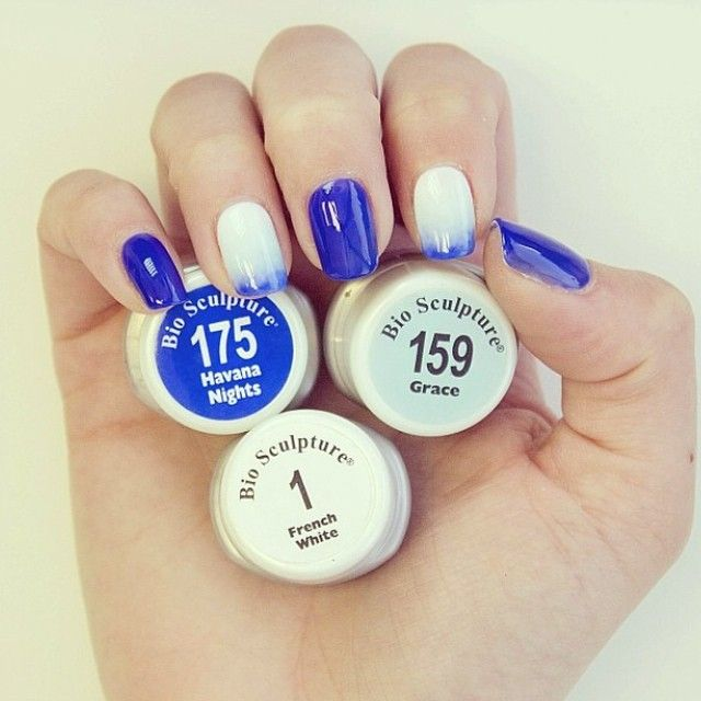 Post Bank Holiday Blues? Turn that frown upside down with some fabulous nail art! Bio Sculpture have created a fantastic step-by-step guide to create gradation effect nails. Watch it now at biosculpture.co.uk #NailArt #Gradation #Blues