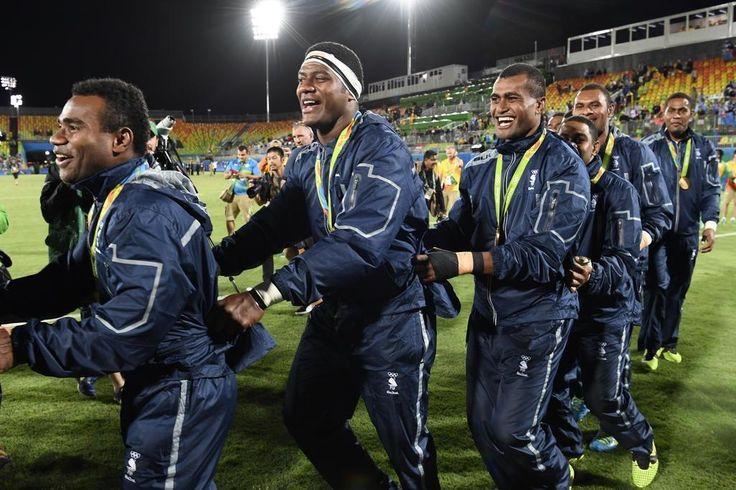 Grã-Bretanha ficou com a prata e África do Sul com a medalha de bronze
