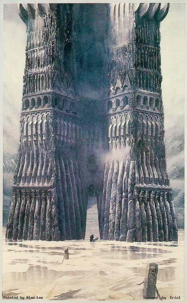 Alan Lee: The Fall of Saruman