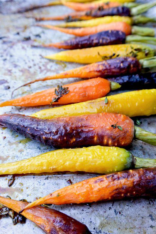 Honey Roasted Carrots | www.floatingkitchen.net