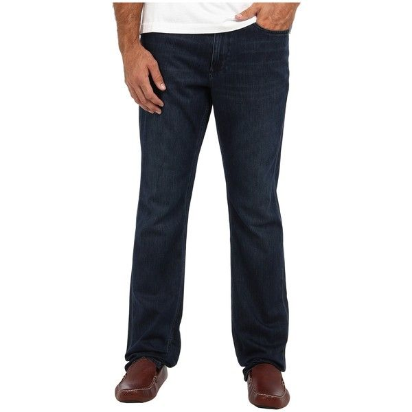Tommy Bahama Big & Tall Big Tall New Cooper Authentic Jean (Blue... ($41) ❤ liked on Polyvore featuring men's fashion, men's clothing, men's jeans, blue, mens button fly jeans, mens zipper jeans, tommy bahama mens jeans, mens straight jeans and mens big and tall jeans