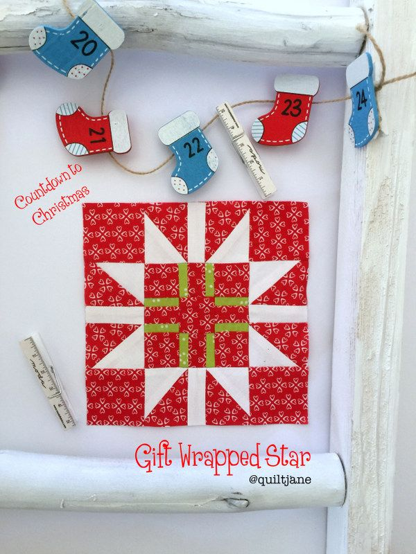 Countdown to Christmas: Gift Wrapped Star