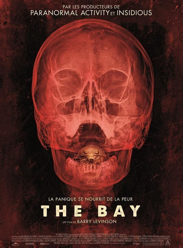 The Bay    Support: BluRay 720    Directeurs: Barry Levinson    Année: 2012 - Genre: Horreur / Science-Fiction / Thriller - Durée: 88 m.    Pays: United States of America - Langues: Français    Acteurs: Kristen Connolly, Will Rogers, Michael Beasley, Christopher Denham, Kenny Alfonso, Kether Donohue, Jane McNeill, Anthony Reynolds, Frank Deal, Kimberly Campbell, Lamya Jezek, Lucia Forte