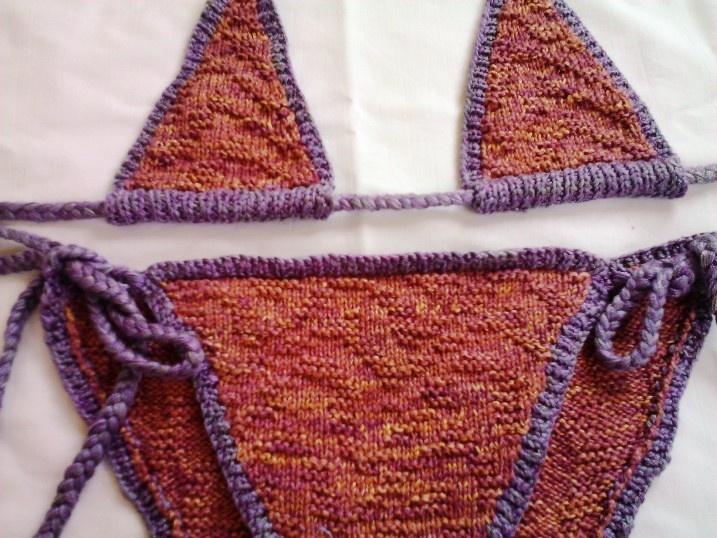 knit bikini patterns