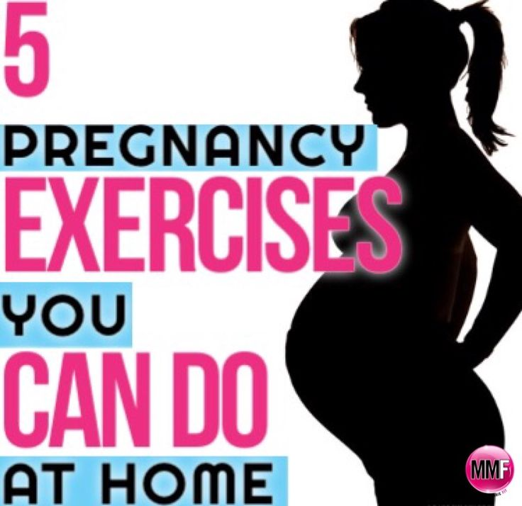 She knows can you exercise when pregnant would