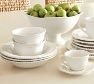 casual dinnerware sets table settings u0026 place settings pottery barn