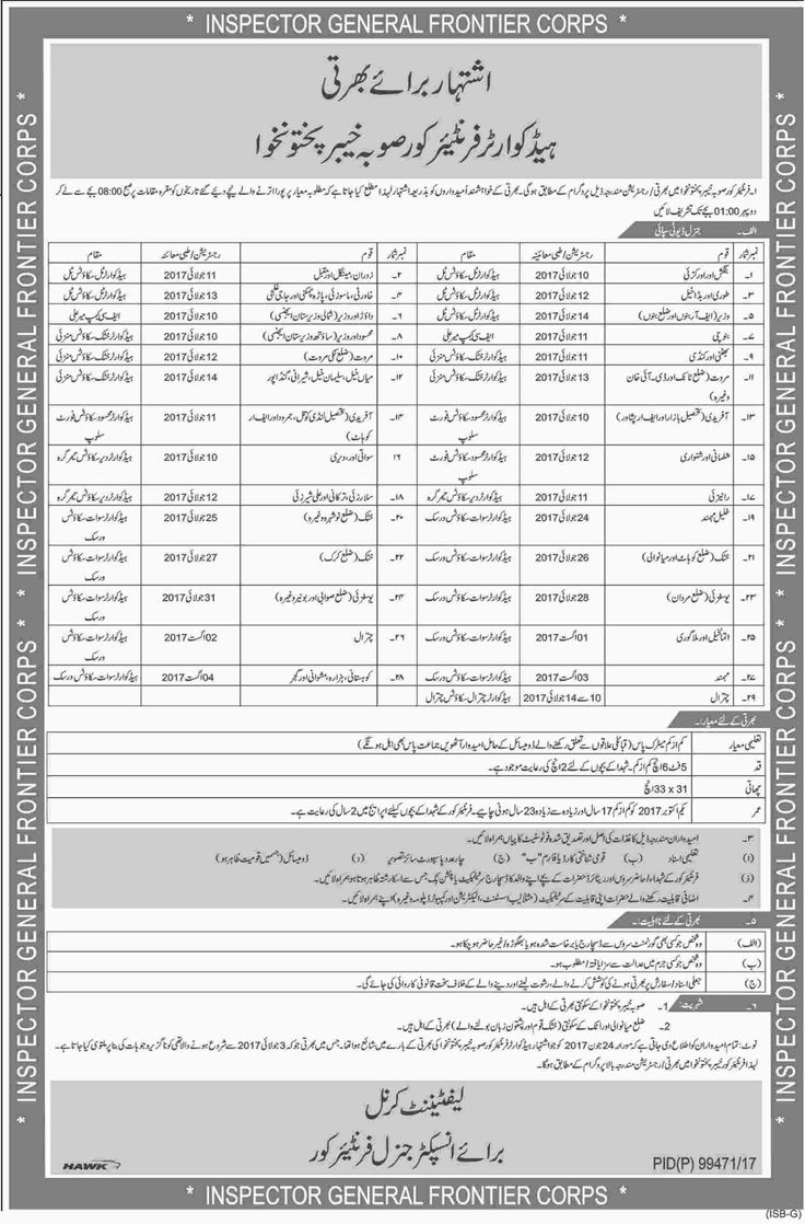 Hq Frontier Kpk Peshawar Jobs     ===== - > -> -> Posted on:  1 July, 2017 Hq Frontier Kpk Peshawar Jobs in Dawn News newspaper of 01 July, 2017 and more jobs and career ad of Hq Frontier Kpk Peshawar Jobs 2016 published in Pakistan newspapers having a careers & job vacancy announcement   #Advertisements #careers #Dawn News #Employment #Hq Frontier Kpk Peshawar Jobs #Islamabad #Jobs #Karachi #Lahore #Pakistan #paperpk #vacancy