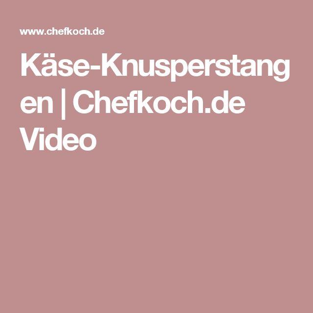 Käse-Knusperstangen | Chefkoch.de Video