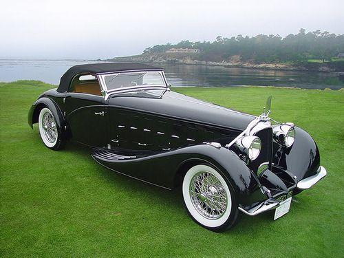1934 Voisin C15 Saloit Roadster, Claaasy!