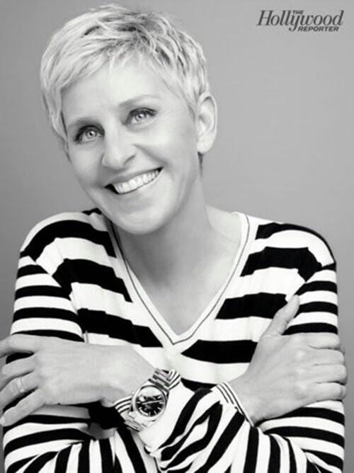 Ellen DeGeneres A strong, wonderful woman.