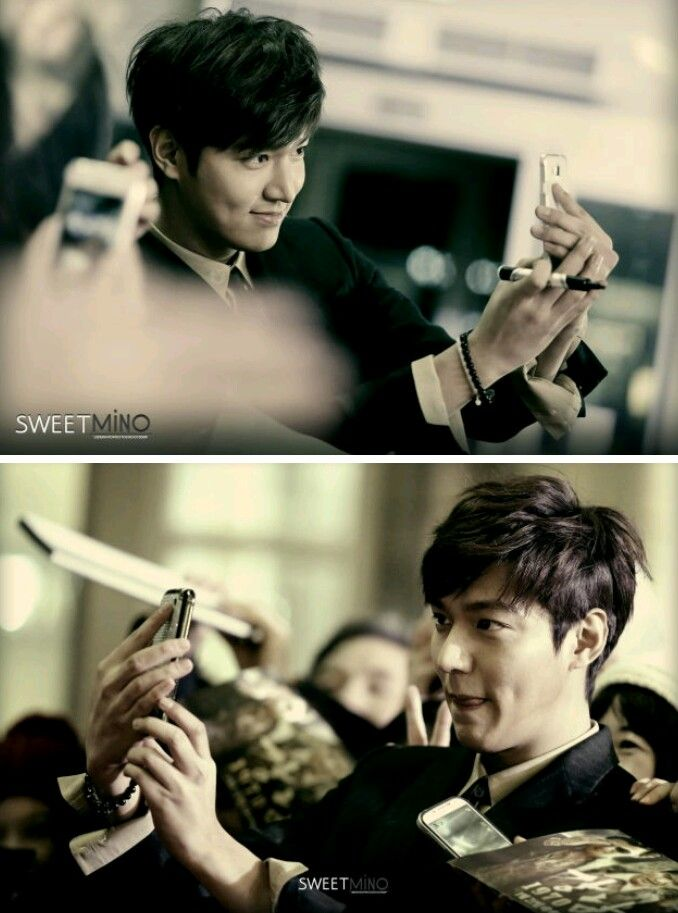 Selfie!.. Lee Min Ho