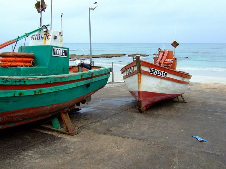 South Africa, Arniston, fishing boat