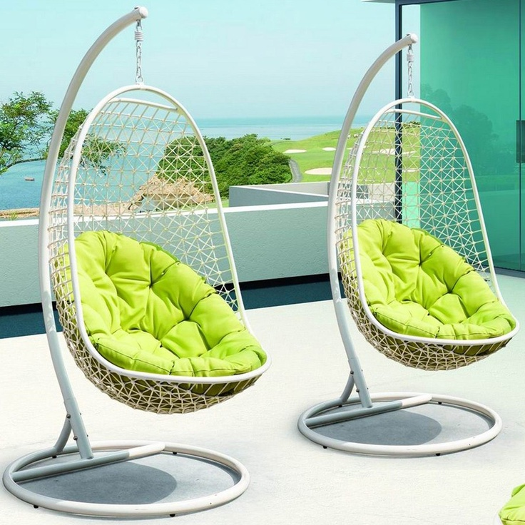 Encounter Wicker Rattan Outdoor Wicker Patio Swing Chair Suspension Series modern outdoor