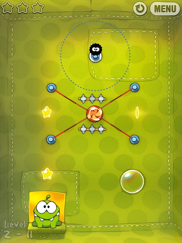 Cut the Rope - 5 stars with 179318 ratings