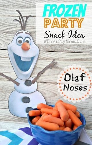 DIY: Throw a 'Frozen' Themed Party Fit for an Ice Queen #Frozen #DIY #Olaf