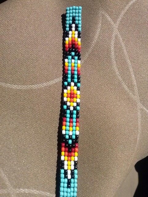 5 across Bead loom pattern (just photo)