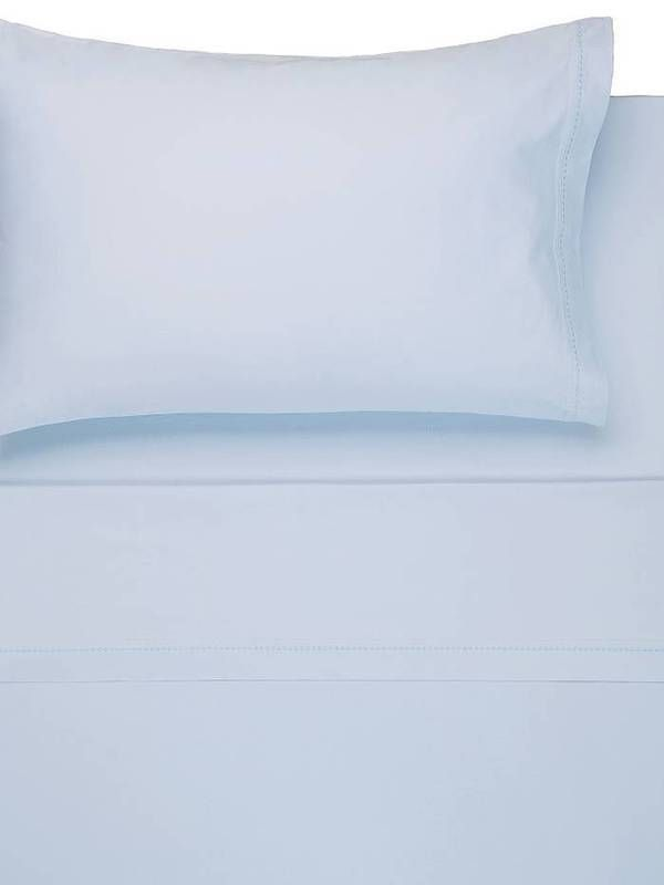 Designers Guild Ari Sheet Set Cotton Porcelain New Bed Sheets Fitted Flat