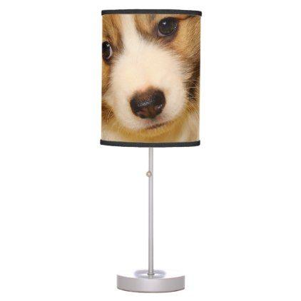 Pembroke welsh corgi puppy table lamp | Zazzle.com   – dogs
