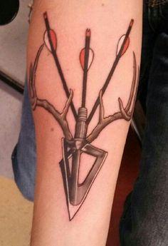 bow hunter tattoo more sticks insects tattoo ideas bows hunters tattoo ...