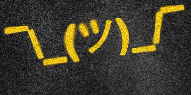 How to type the ¯\_(ツ)_/¯ shrug emoji