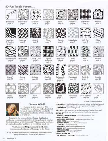 How To Zentangle Patterns | the world of zentangle is evolving growing and expanding as zentangle ...
