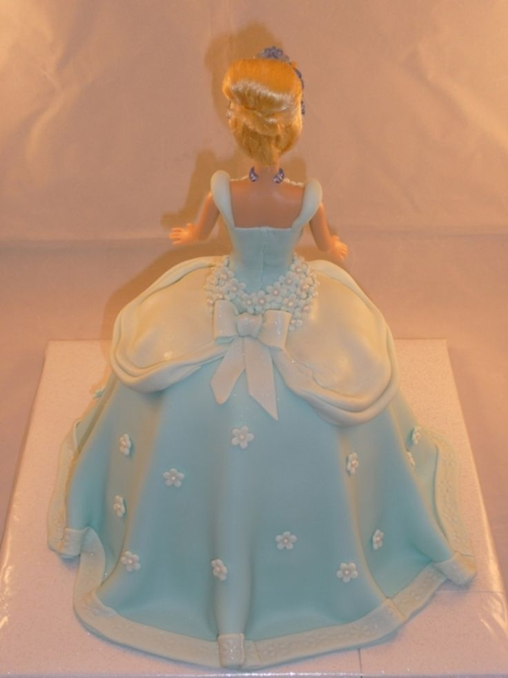 Cake Decoration Doll : Cinderella Doll Cake Cake decorating Pinterest ...