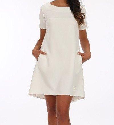Biała sukienka, tunika, wesele, przyjęcie, party