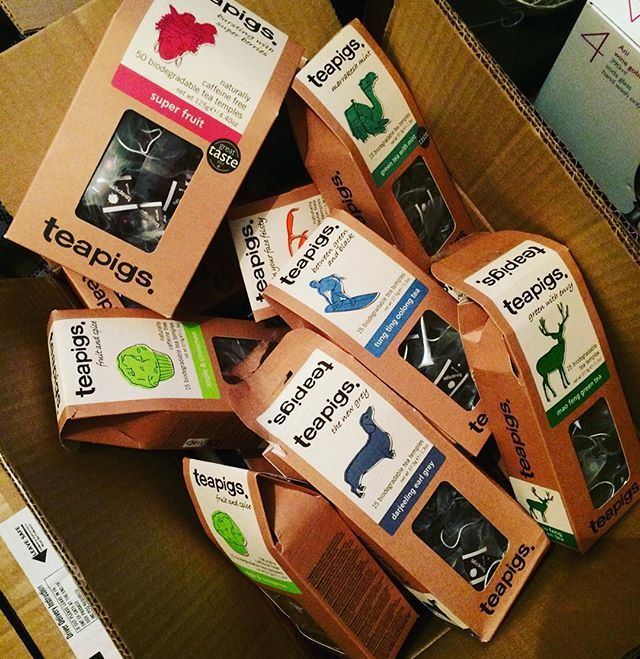 The struggle of moving house as a teapig... (We're gonna need another box) #timefortea ☕️