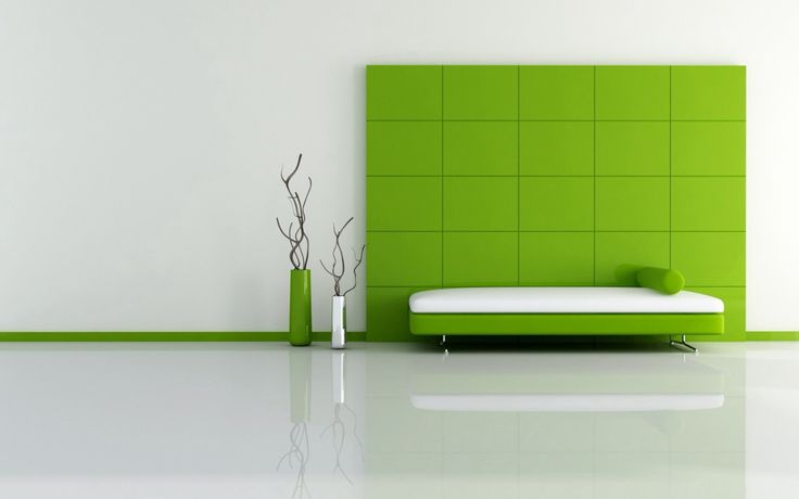 Minimalism in Lime
