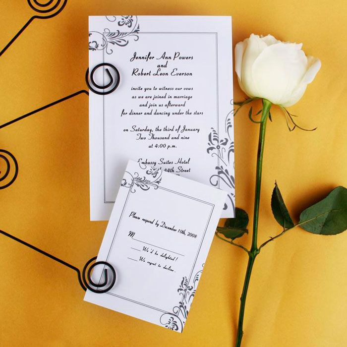 Grace and vintage Wedding Invitations Invitation Cards