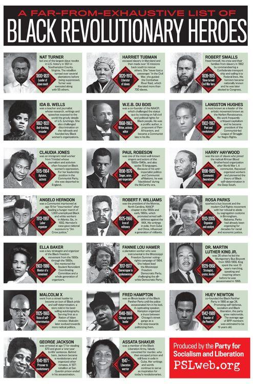Black Revolutionary Heroes