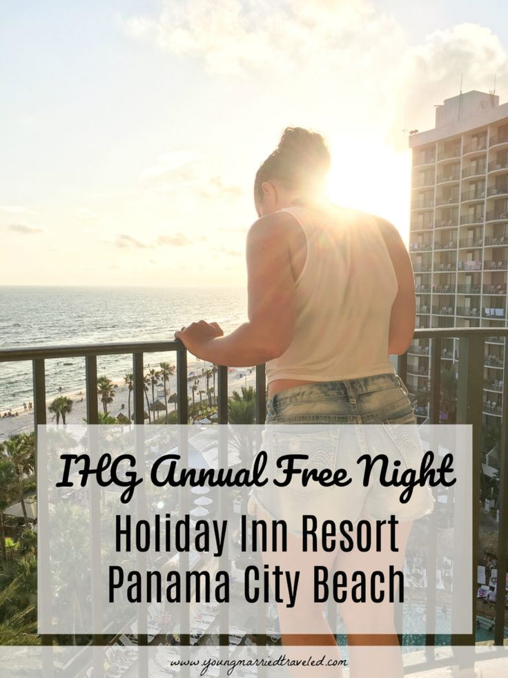We have used our IHG Annual Free Night at Holiday Inn Resort Panama City Beach twice now and it was incredible! Read more about it here!