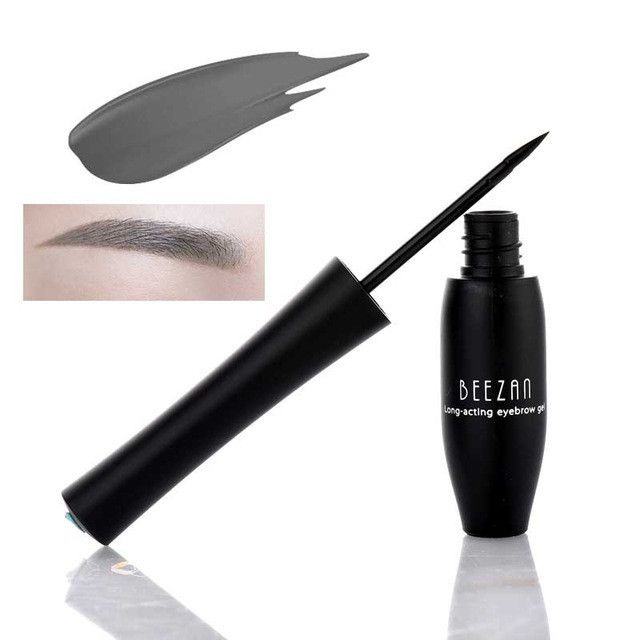 3 Colors Natural Waterproof Peel Off Henna Eyebrow Gel Long Lasting Easy to Wear Makeup Eyebrow Enhancers Brown Eye Brow Pen