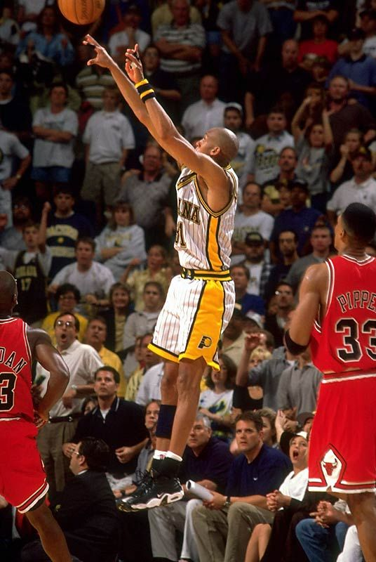 Reggie Miller...loved watching him shoot the 3