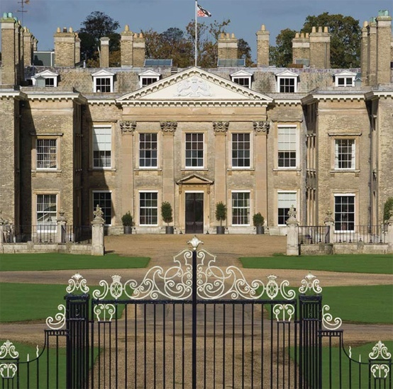 Althorpe House, family home of Earl Spencer and where Diana grew up