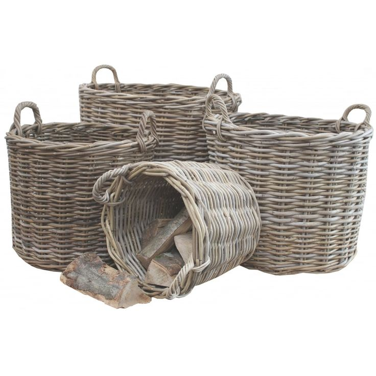 Rectangular Grey Buff Rattan Storage Baskets: 1000+ Images About For The Home On Pinterest