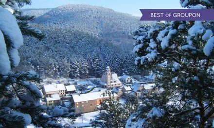 Vosges du Nord : 1 à 3 nuits avec petit déjeuner et verre de crémant, dîner optionnel à l'Hôtel Le Falken 3* pour 2 pers