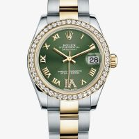 The Watch Quote: The Watch Quote: List Price and tariff for Rolex - Oyster Perpetual 31 & 34 mm - Oyster Perpetual Datejust - Cadran VI serti de diamants - 178383 watch