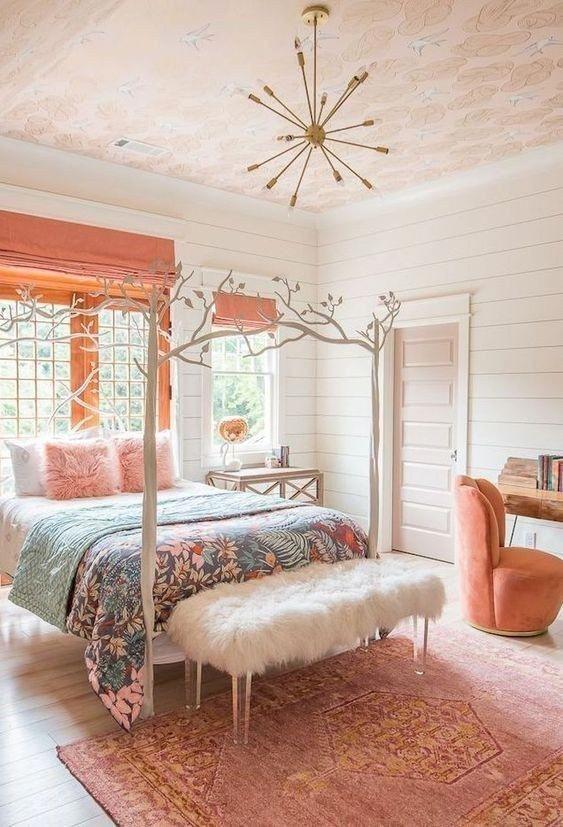 29 stylish cozy functional bedroom ideas decor for teen girls 19