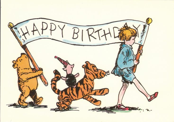Happy Birthday Winnie the Pooh and Friends parade - Google Search