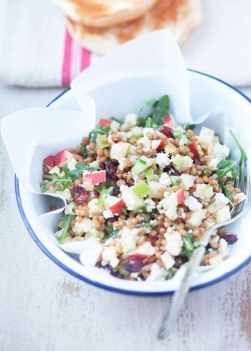 Il Cavoletto di Bruxelles | Wheatberry Waldorf Salad | http://www.cavolettodibruxelles.it/