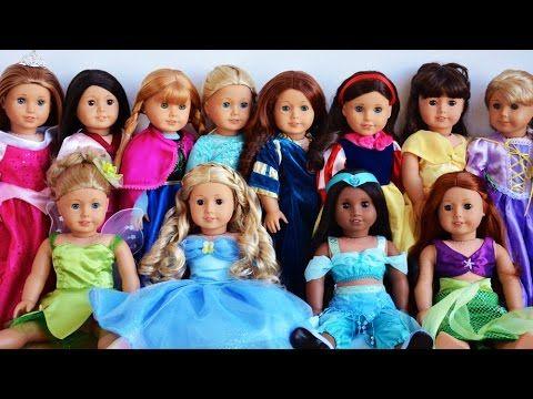 ✿ Куклы AMERICAN GIRL Влог Магазин Кукол Америка Принцессы AMERICAN GIRL Doll  play Doll baby toy    {{AutoHashTags}}