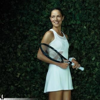 Ana Ivanovic's Adidas dress for Wimbledon 2013