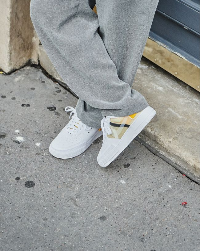 Air Force 1 Drop Type White Gold Yellow | Nike air force