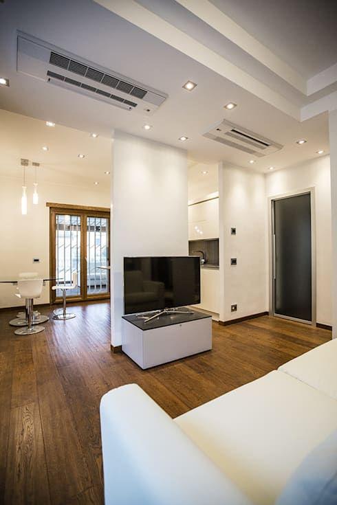 Una Casa per gli Amanti dello Stile Moderno a Roma   Home Help ...