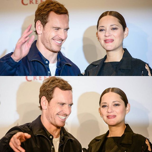 Michael and Marion Cotillard attend the 'Assassin's Creed' Berlin Photocall at Cafe Moskau on December 1, 2016 in Berlin, Germany.  #MichaelFassbender #Fassy #Fassbender #MarionCotillard