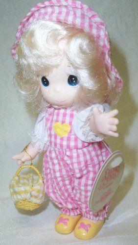 Precious Moments Dolls 2009 | precious moments doll rhea 7 1617 7 vinyl precious moments doll named ...