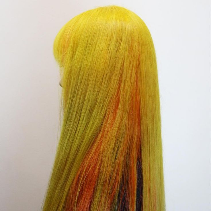 145 best hair colors ideas images on pinterest bright - Tiger lily hair salon ...
