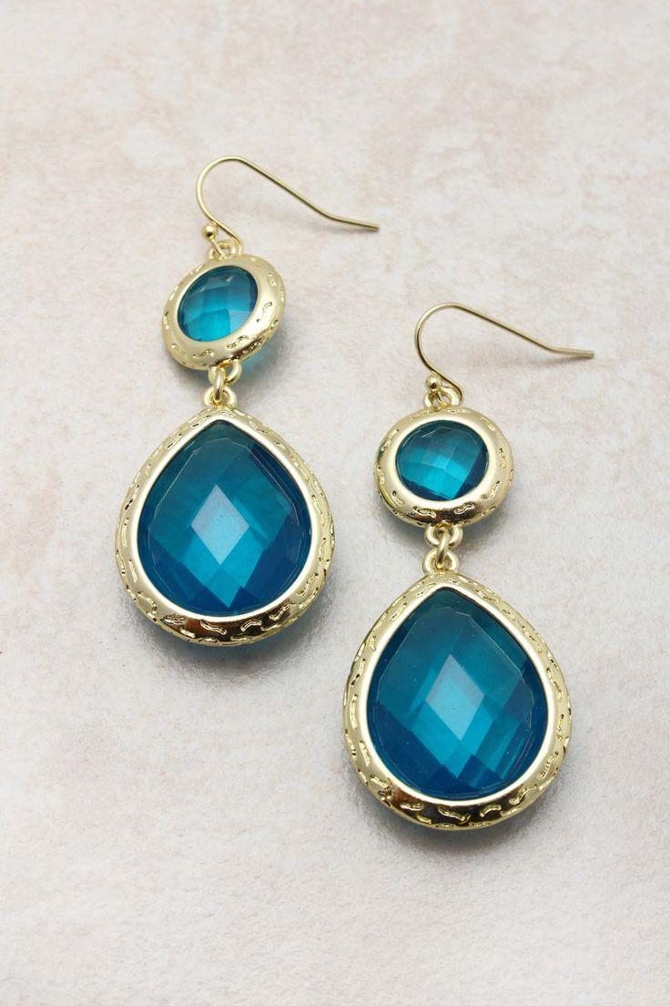 Sapphire Isabella Teardrop Earrings